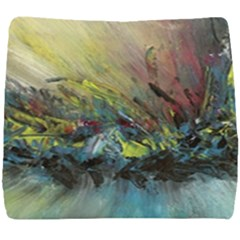 Original Abstract Art Seat Cushion by scharamo