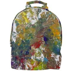 Original Abstract Art Mini Full Print Backpack by scharamo
