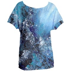Original Abstract Art Women s Oversized Tee by scharamo