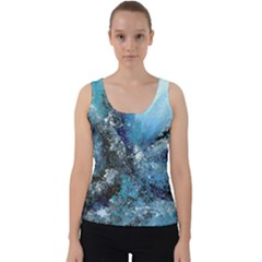 Original Abstract Art Velvet Tank Top by scharamo