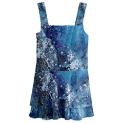 Original Abstract Art Kids  Layered Skirt Swimsuit by scharamo