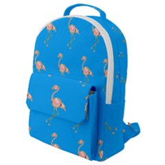 Flamenco Birds Exotic Nice Pink Flap Pocket Backpack (small) by Pakrebo