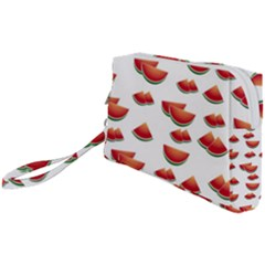 Summer Watermelon Pattern Wristlet Pouch Bag (small)