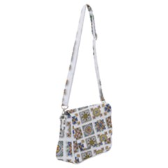 Artistic Art Design Creative Shoulder Bag With Back Zipper
