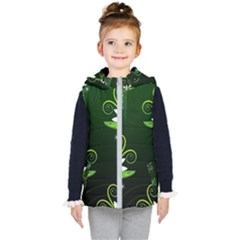 Background Non Seamless Pattern Kids  Hooded Puffer Vest