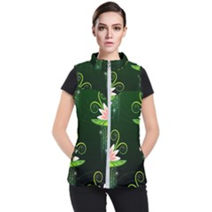 Background Non Seamless Pattern Women s Puffer Vest