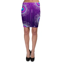 Non Seamless Pattern Background Bodycon Skirt