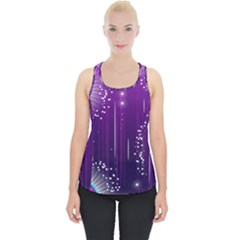 Non Seamless Pattern Background Piece Up Tank Top
