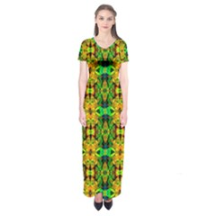 G 8 Short Sleeve Maxi Dress
