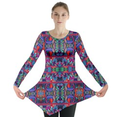 H 7 Long Sleeve Tunic  by ArtworkByPatrick