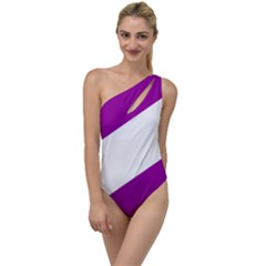 Flag Of Puerto Williams To One Side Swimsuit by abbeyz71