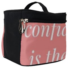 Self Confidence  Make Up Travel Bag (big) by Abigailbarryart
