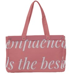 Self Confidence  Canvas Work Bag