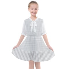 Summer Design Kids  All Frills Chiffon Dress by scharamo