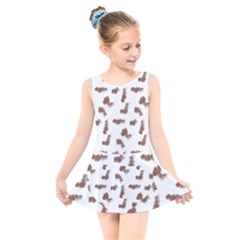 Casual Kids  Skater Dress Swimsuit by scharamo