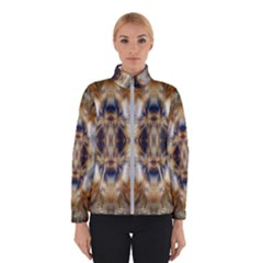 Raising Vibrations Sacred Abstract Art Winter Jacket