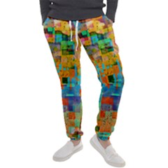 Painted Desert Southwestern Abstract Art Men s Jogger Sweatpants by CrypticFragmentsDesign