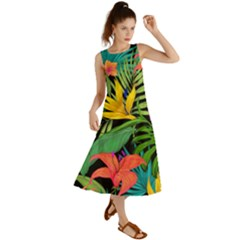 Tropical Adventure Summer Maxi Dress