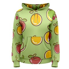 Seamless Healthy Fruit Women s Pullover Hoodie by HermanTelo