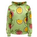 Seamless Healthy Fruit Women s Pullover Hoodie View1