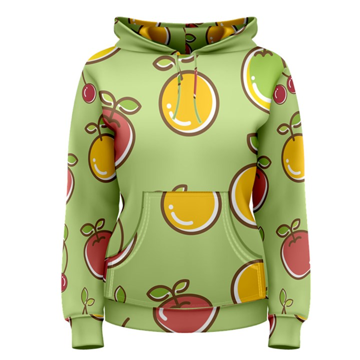 Seamless Healthy Fruit Women s Pullover Hoodie