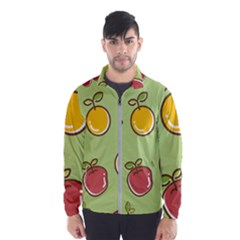 Seamless Healthy Fruit Men s Windbreaker