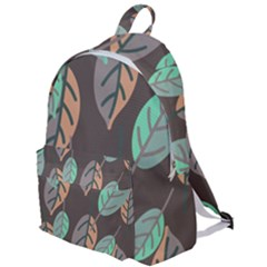 Leaf Brown The Plain Backpack by Jojostore