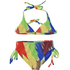 Abstract Painting Kids  Classic Bikini Set
