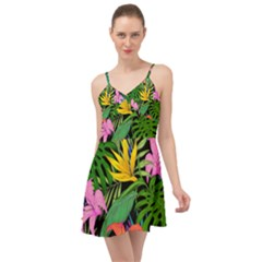 Tropical Adventure Summer Time Chiffon Dress