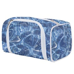 Abstract Blue Diving Fresh Toiletries Pouch by HermanTelo