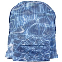 Abstract Blue Diving Fresh Giant Full Print Backpack