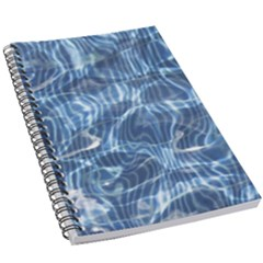 Abstract Blue Diving Fresh 5 5  X 8 5  Notebook
