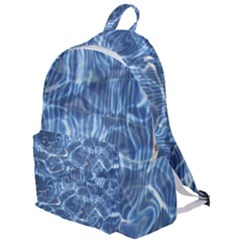 Abstract Blue Diving Fresh The Plain Backpack