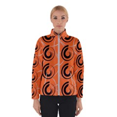 Background Pattern Retro Winter Jacket