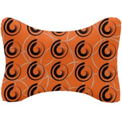 Background Pattern Retro Seat Head Rest Cushion