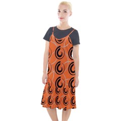 Background Pattern Retro Camis Fishtail Dress
