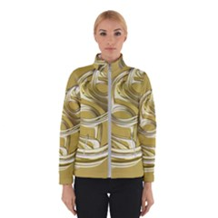 Fractal Abstract Artwork Winter Jacket