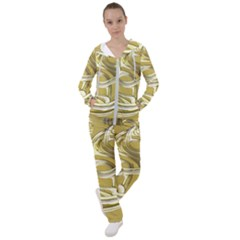 Fractal Abstract Artwork Women s Tracksuit