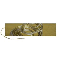 Fractal Abstract Artwork Roll Up Canvas Pencil Holder (l)