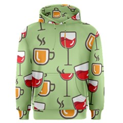 Cups And Mugs Men s Pullover Hoodie