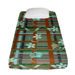 Textile Fabric Fitted Sheet (single Size)