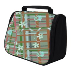Textile Fabric Full Print Travel Pouch (small) by HermanTelo
