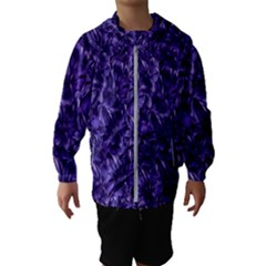 Pattern Color Ornament Kids  Hooded Windbreaker
