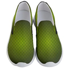 Hexagon Background Line Men s Lightweight Slip Ons