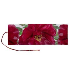 Flowers Red Peony Arrangement Roll Up Canvas Pencil Holder (m) by Pakrebo