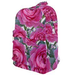 Roses Gypsophila Flowers Fragrant Classic Backpack by Pakrebo