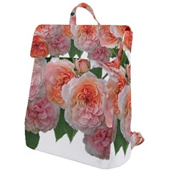 Roses Flowers Arrangement Perfume Flap Top Backpack