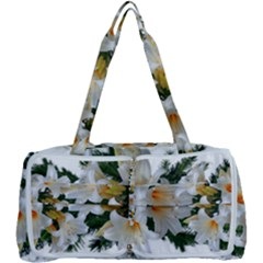 Lilies Belladonna White Flowers Multi Function Bag