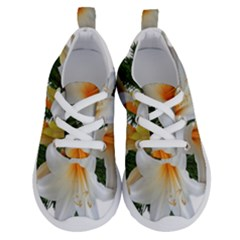 Lilies Belladonna White Flowers Running Shoes