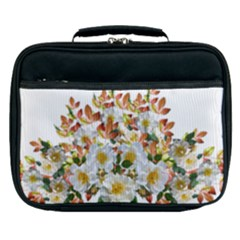 Flowers Roses Leaves Autumn Lunch Bag